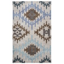 Tumble Weed Loft Hand-Tufted Light Gray Area Rug