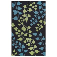 Azzura Hill Hand-Tufted Indigo Indoor/Outdoor Area Rug