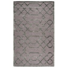 Monroe Hand-Tufted Gray/Silver Area Rug