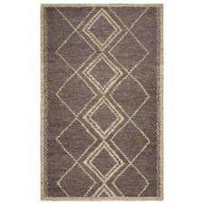 Whittier Hand-Woven Brown Area Rug