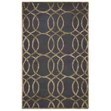 Monroe Hand-Tufted Gray/Gold Area Rug