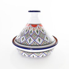 "12"" Tabarka Design Cookable Tagine"