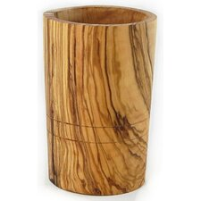 Olive Wood Utensil Holder