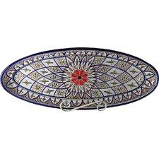 Tabarka Design Oval Platter