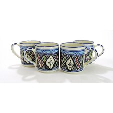 Tibarine Stoneware Coffee Mug (Set of 4)