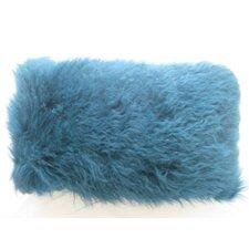 Lamb Fur Throw Pillow