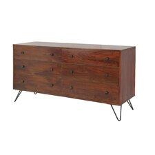 Bronson 6 Drawer Dresser