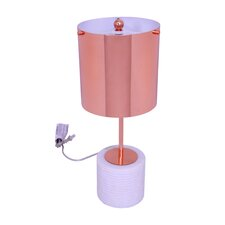 "Vico 20"" H Table Lamp with Drum Shade"