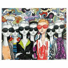 Fashion Painting Print on Wrapped Canvas
