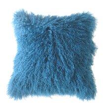Lamb Fur Throw Pillow (Set of 2)