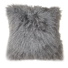Lamb Fur Throw Pillow (Set of 2)