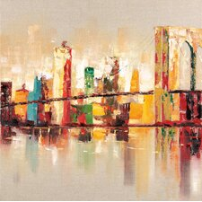 Raw City II Painting Print on Wrapped Canvas