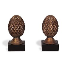 Pineapple Book Ends (Set of 2)