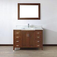 "Jacchi 48"" Single Bathroom Vanity Set with Mirror"