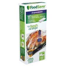 FoodSaver® Expandable Heat Seal Roll (Set of 2)