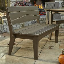 Hourglass Garden Bench