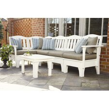 Westport 6 Piece Deep Seating Group with cushions
