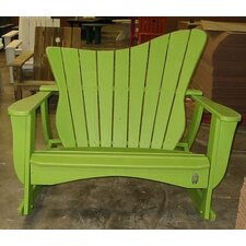 Wave Settee Rocking Chair