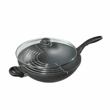 "12.5"" Wok with Rack and Lid"