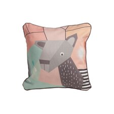 Menagerie Cubist Print Toddler Pillow