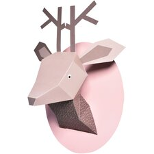Menagerie Zoe the Deer Paper Bust Wall Decor