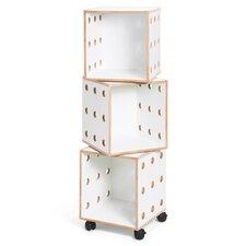 "Perf 49"" Cube Unit Bookcase"
