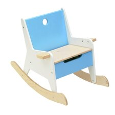 Rockabye Kids Rocking Chair with Storage Compartment