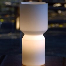 """Vee 11"""" H Table Lamp with Novelty Shade"""