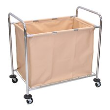 Industrial Laundry Basket Cart