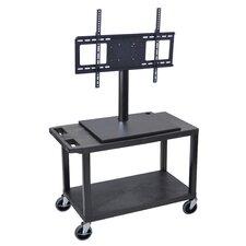 AV Cart with Universal LCD TV Mount