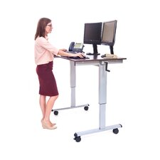 Standing Desk with Casters