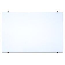 Wall Mounted Magnetic Glass Board