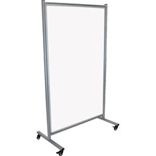 Divider Magnetic Mobile 6' H x 4' W Whiteboard