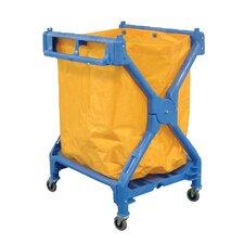 Folding Laundry Basket Cart