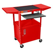 Compact Computer Workstation AV Cart