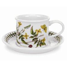 Botanic Garden 9 oz. Breakfast Cup and Saucer (Set of 6)