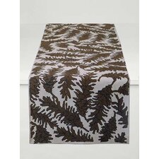 Flora Pine Cone Table Runner