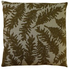 Flora Pine Cone Linen Throw Pillow