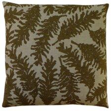 Flora Pine Cone Linen Throw Pillow