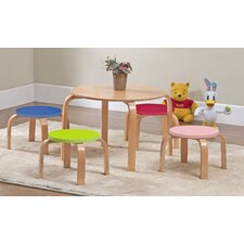 Miscellaneous Kids 5 Piece Table and Stool Set