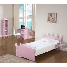 Princess Twin Panel Customizable Bedroom Set