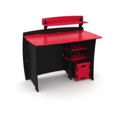 Red Race Kids' Complete Desk System Set