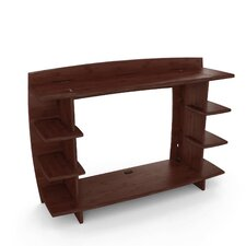 "Sustainable Bamboo 36"" H x 13"" W Desk Hutch"