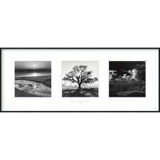 'Fiat Lux- Trilogy' by Ansel Adams Framed Photographic Print