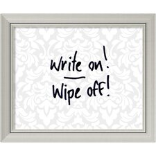 Damask Dry Erase Board