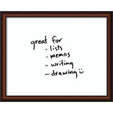 Bella Noce Dry-Erase Wall Mounted Whiteboard, 2' H x 3' W