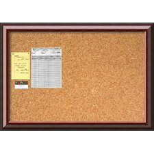 Cambridge Wall Mounted Bulletin Board, 2' H x 3' W