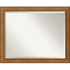 Egyptian Bronze Wall Mirror
