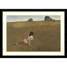 'Christina's World' by Andrew Wyeth Framed Painting Print