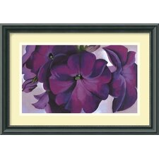 'Petunias, 1925' by Georgia O'Keeffe Framed Painting Print